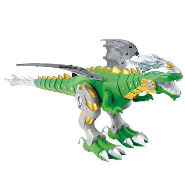 Dinosaur Toy Walking Dragon Fire Breathing Water And Light Spray ManiBaa