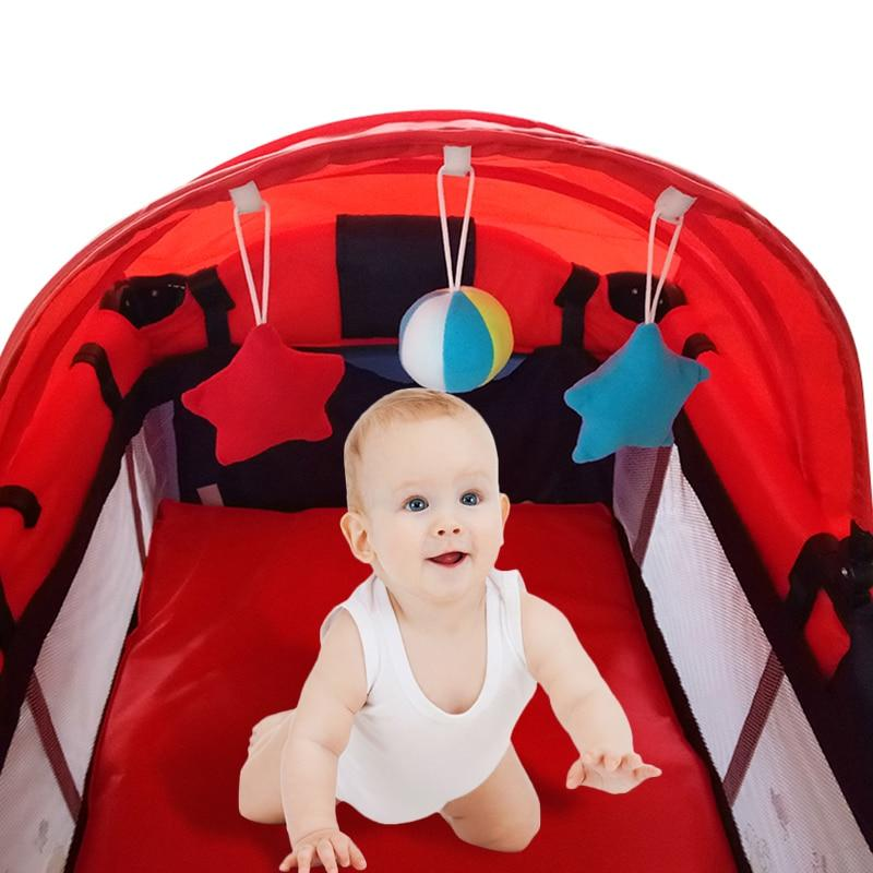 High Quality Foldable Toddler Bed Baby Crib Mosquito Net ManiBaa