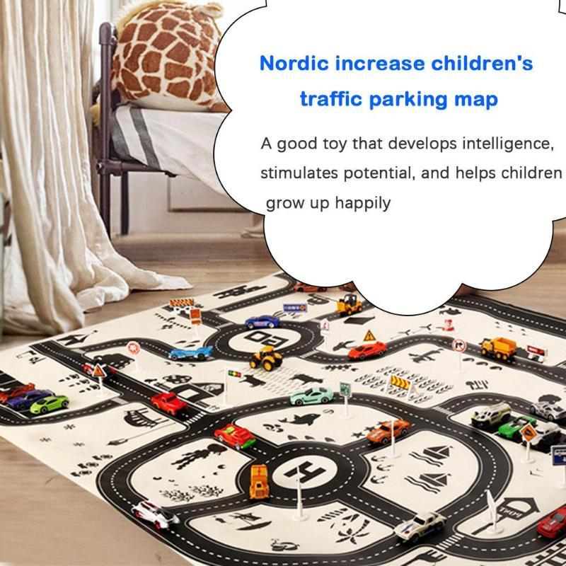 Newborn Baby Playing Mat Traffic Park Map ManiBaa
