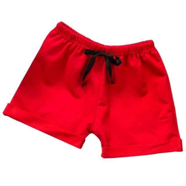 Summer Children Shorts Cotton Shorts For Boys Girls Brand Shorts Toddler Kids Beach Short Sports Pants