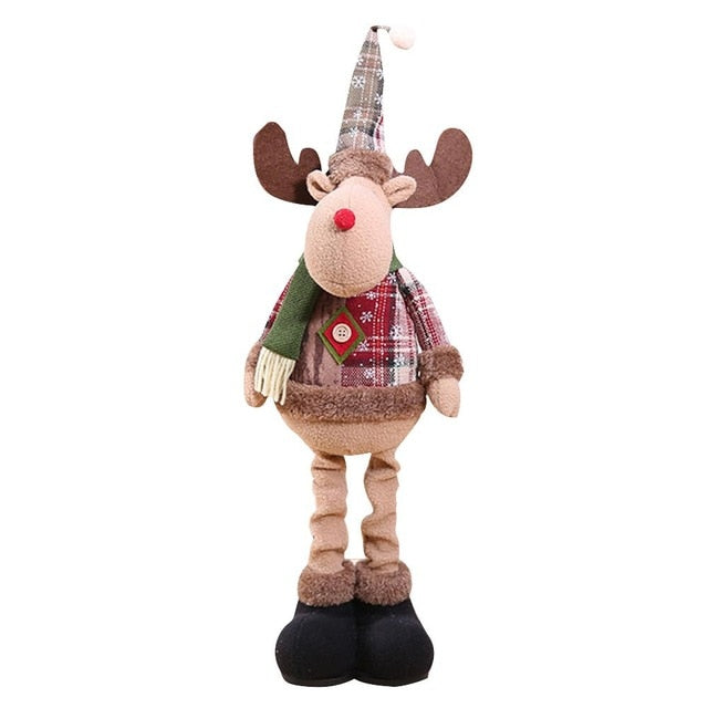 Christmas Decorations, Innovative Elk Santa Snowman Decoration Kids New Year Gift