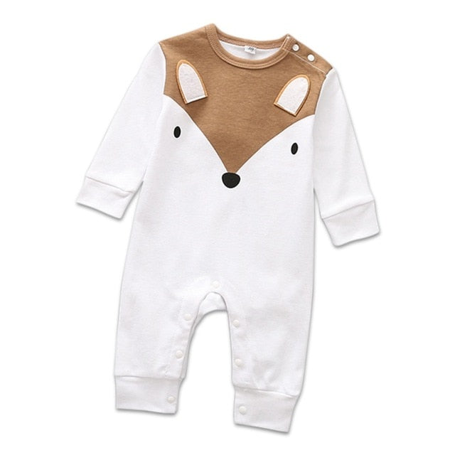 Newborn Baby Romper For Boys Girls Rompers Playsuits Cotton