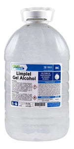 Gel antibacterial con 70% de alcohol