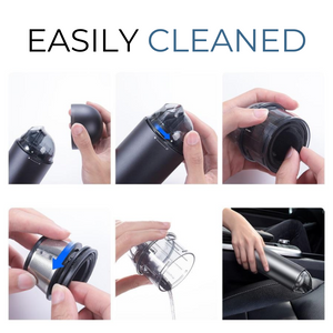 Premium Portable Car Vacuum Cleaner