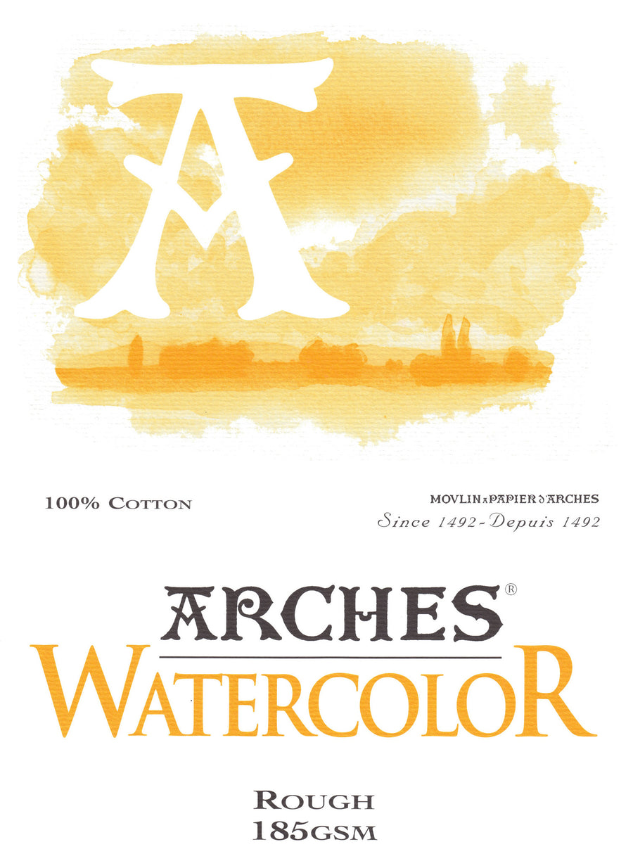 Arches Watercolour Pad A4 185gsm Rough
