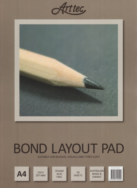 Arttec A4 Bond Layout Pad