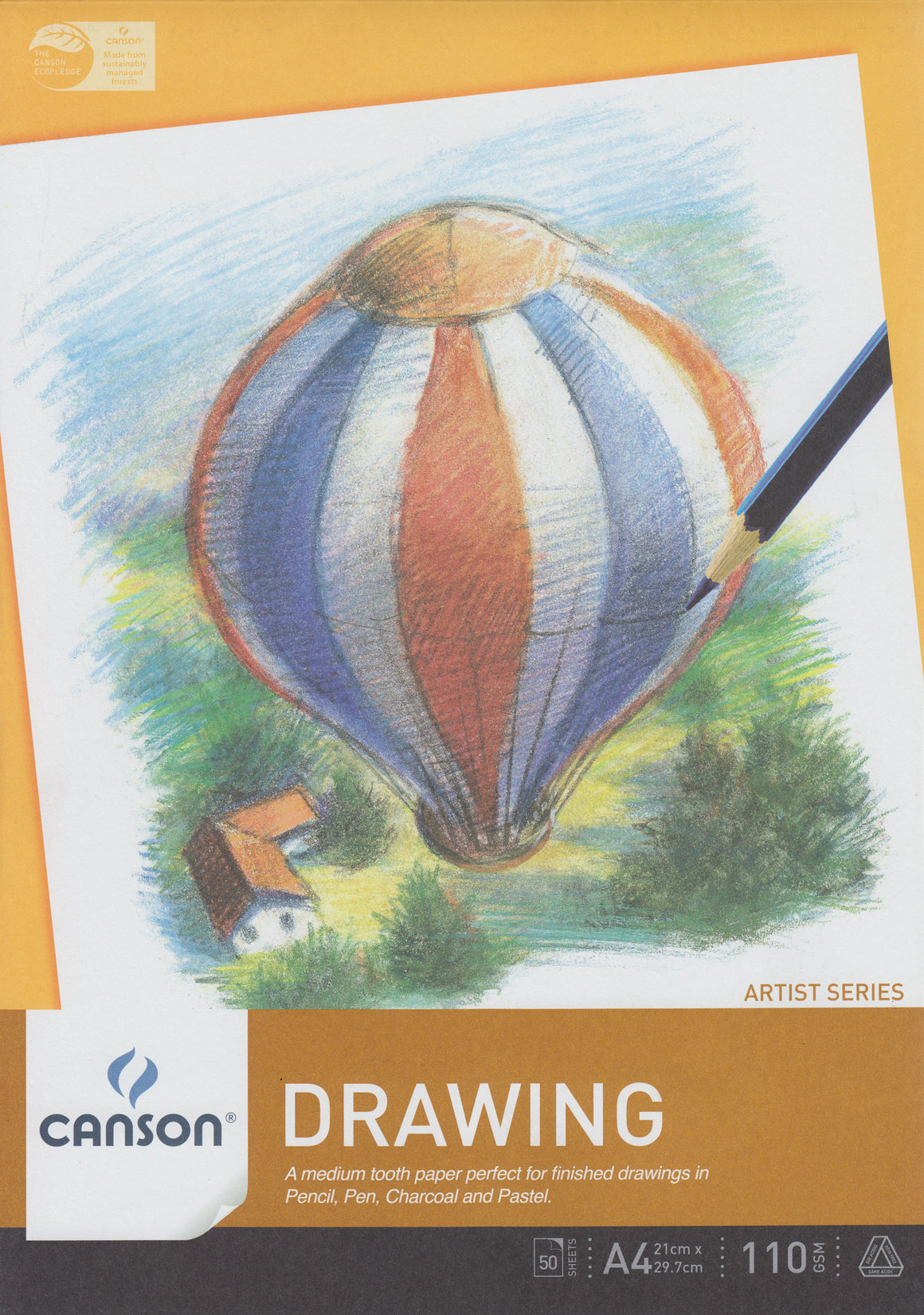 Canson A4 Drawing Pad
