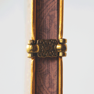 Detail of clasp