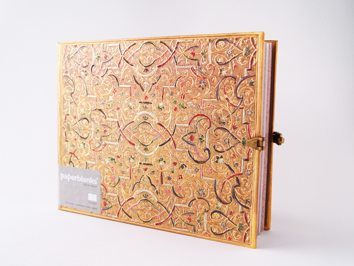 Gold Inlay Guestbook
