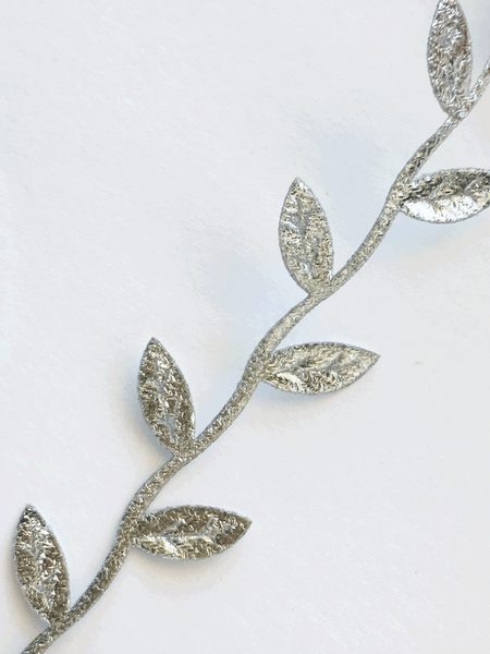 Detail of Silver Leaf Garland