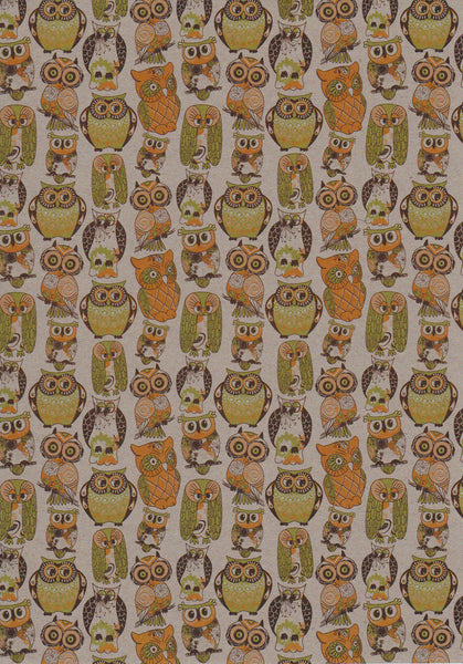 Owls in Thyme A4 Paper