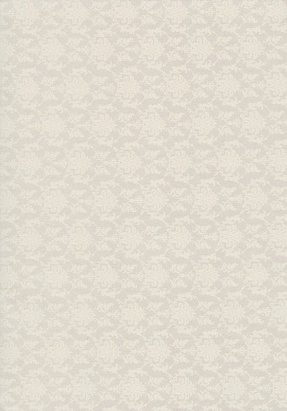 metallic cream damask design