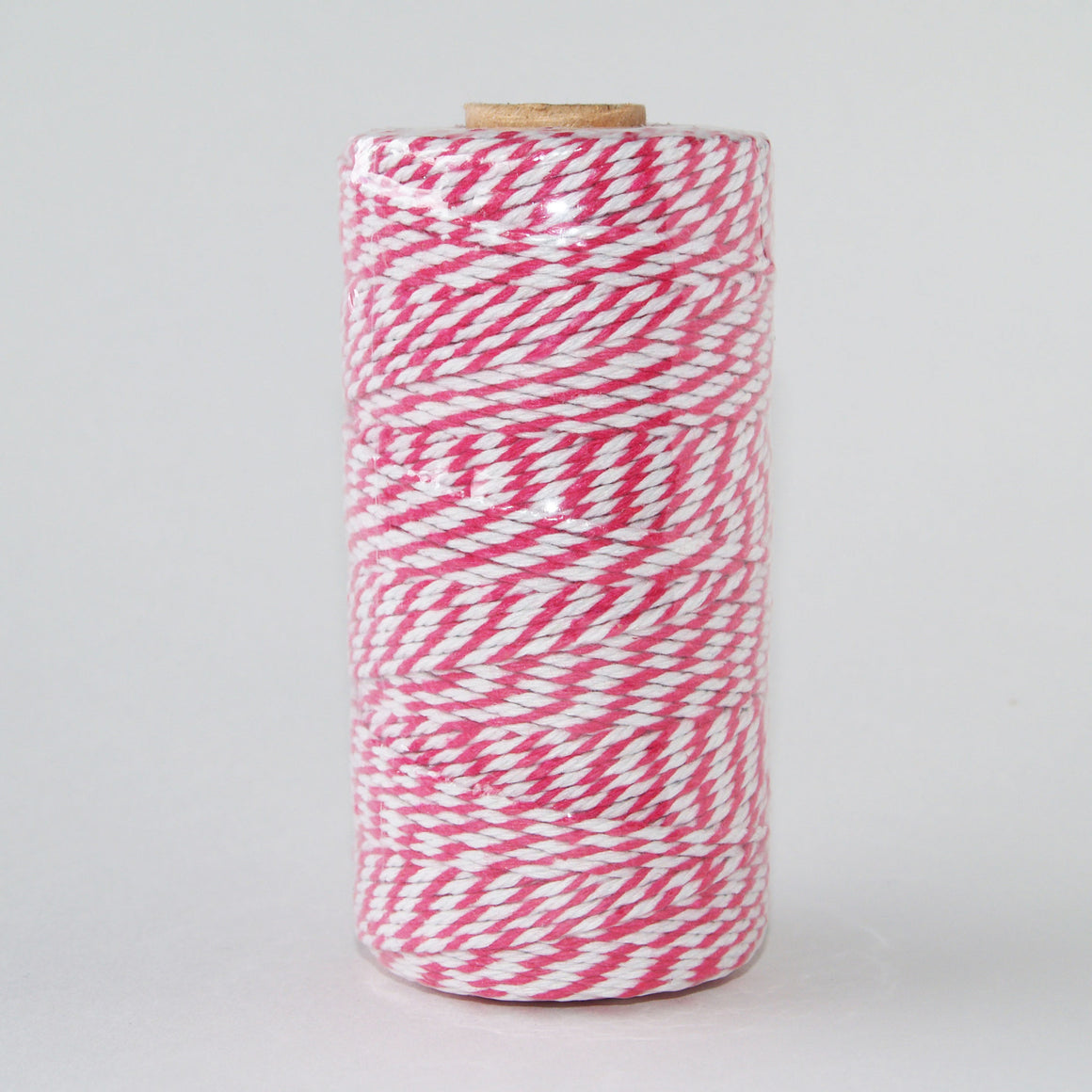 Bakers Twine Fuchsia and White