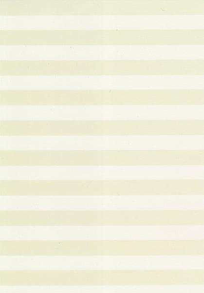 Yellow horizontal stripes set on ivory 120gsm paper