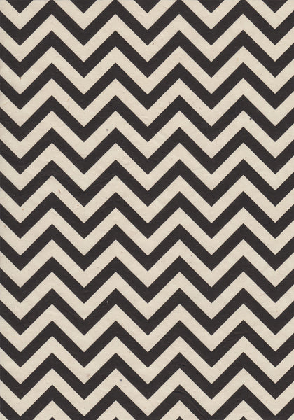 Black Chevron A4 Paper