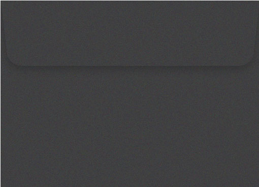 Metallic dark grey 130 x 190mm envelope