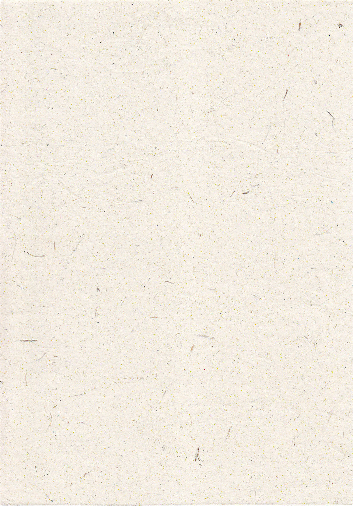 Handmade textured white recycled paper