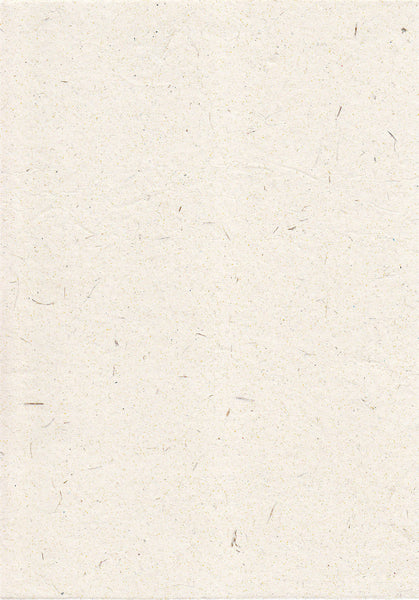 Elelphant Textured White Paper  Handmade Recycled Paper   The