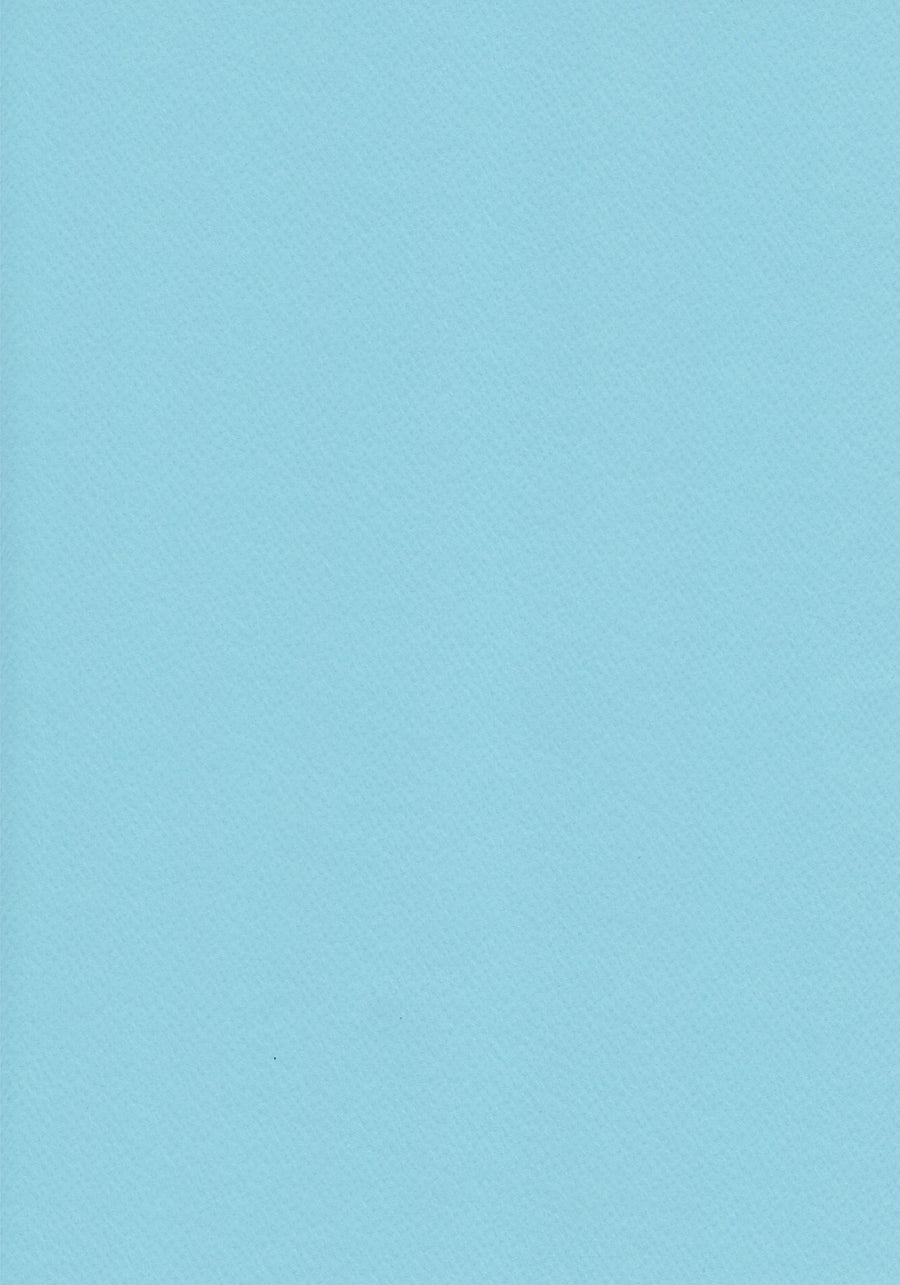 Light Blue A4 Card
