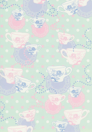 Lewis Carroll inspired pattern paper