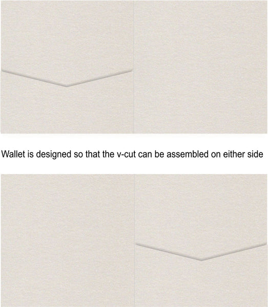 Quartz Square Invitation Wallet