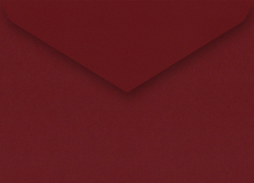 Red Lacquer C5 Envelope