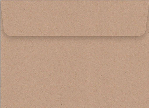 Vellum  Kraft C5 Envelope (Peel and Seal)