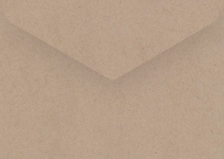 Desert sand speckled kraft C6 envelope
