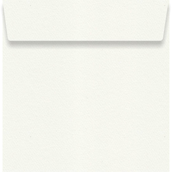 Via Felt White 130 x 130mm Envelope
