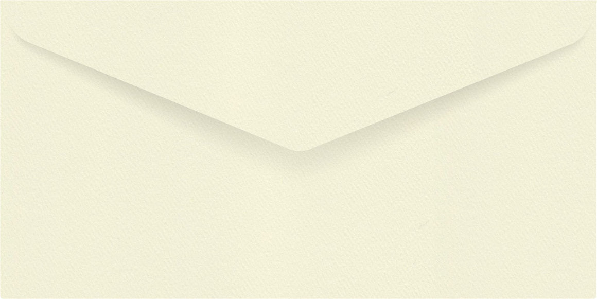 Via Felt Cream DL Envelope