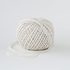 White Cotton Twine 80mt Roll