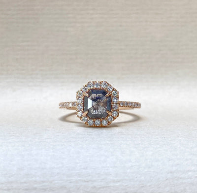 """Diamond Slice"" 0.92ct Octagon Ring Ring JasonRee"