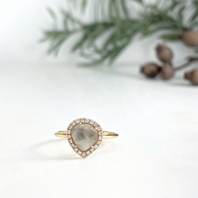 Diamond Slice Pear Ring Ring JasonRee