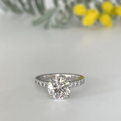 Round 2.01ct Diamond Ring Ring Jason Ree Design