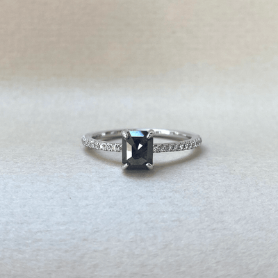 18ct Black Diamond Ring Ring JasonRee