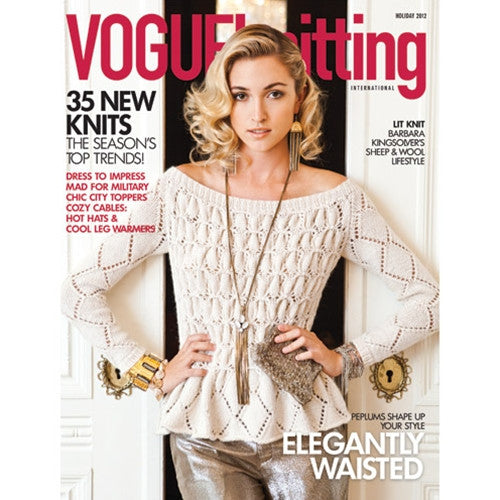 Vogue Knitting - Vogue Knitting Holiday 2012 -  - Yarning for Ewe