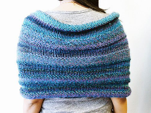 Yarning for Ewe - Windy Hill Wrap by Bharati Shah -  - Yarning for Ewe - 4