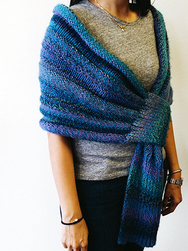 Yarning for Ewe - Windy Hill Wrap by Bharati Shah -  - Yarning for Ewe - 2