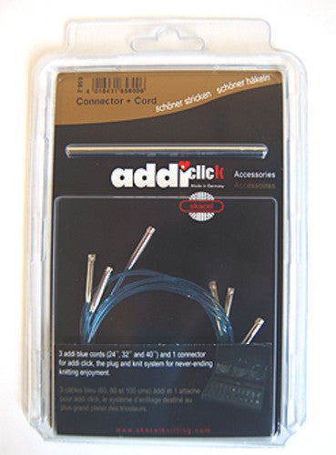 "addi Click Turbo Cord Multi Pack - 24"", 32"", & 40"""