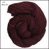 Frabjous Fibers and Wonderland Yarns - March Hare - #55 Mince Pie - Yarning for Ewe - 5