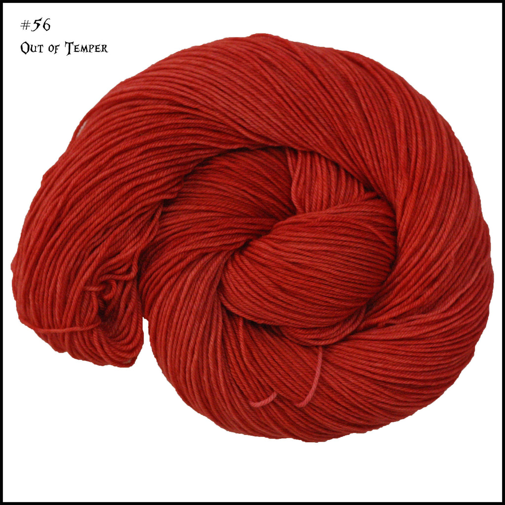 Frabjous Fibers and Wonderland Yarns - March Hare - #56 Out of Temper - Yarning for Ewe - 2