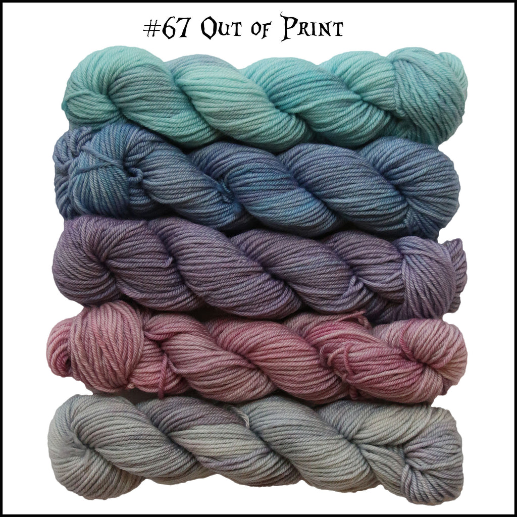 Wonderland Yarns Mary Ann Sock Mini Skein Packs