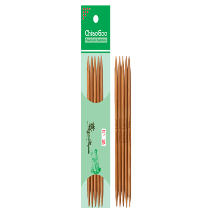 ChiaoGoo - Patina Bamboo Double Point Needles -  - Yarning for Ewe