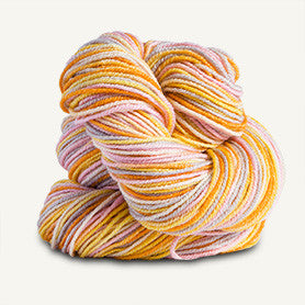 Spud and Chloe - Stripey Fine - 7865 Orange Cream - Yarning for Ewe - 7