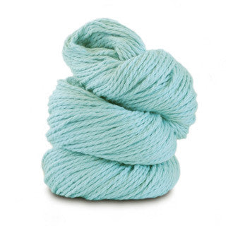 Blue Sky Alpacas - Worsted Cotton - 628 Azul - Yarning for Ewe - 23