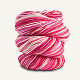 Spud and Chloe - Stripey Fine - 7866 Cherry Sundae - Yarning for Ewe - 8