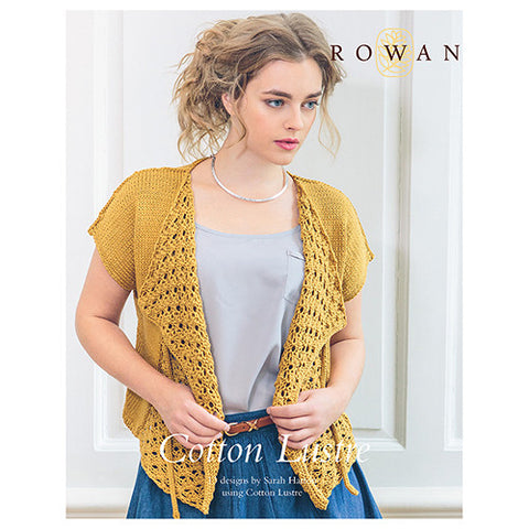 Rowan - Rowan Cotton Lustre Pattern Booklet -  - Yarning for Ewe
