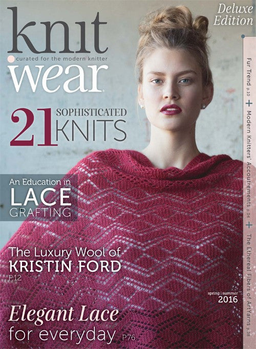 Interweave - Knit.Wear Spring/Summer 2016 -  - Yarning for Ewe - 1