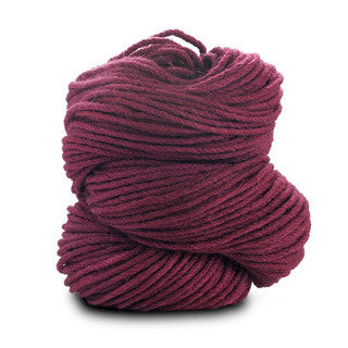 Blue Sky Alpacas - Worsted Hand Dyes - 2012 Cranberry - Yarning for Ewe - 4