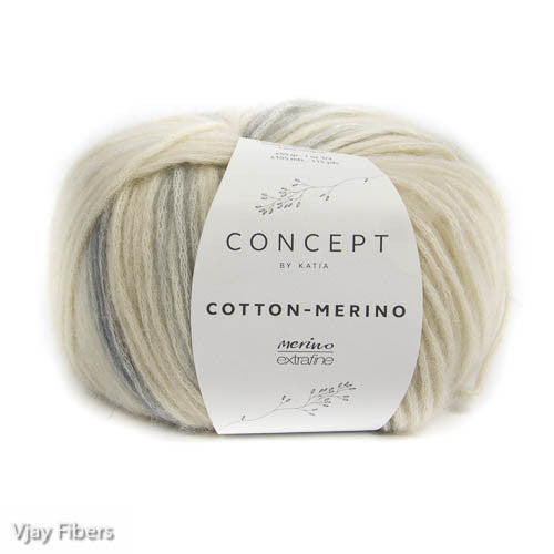 Katia Concept Cotton Merino Plus